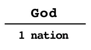 1nation under God